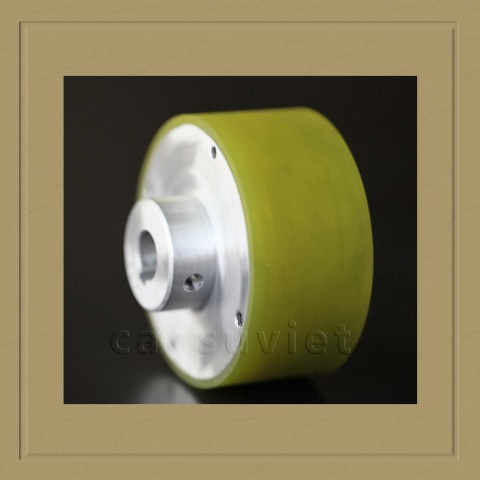 PU wheel for plastic film in packing machine
